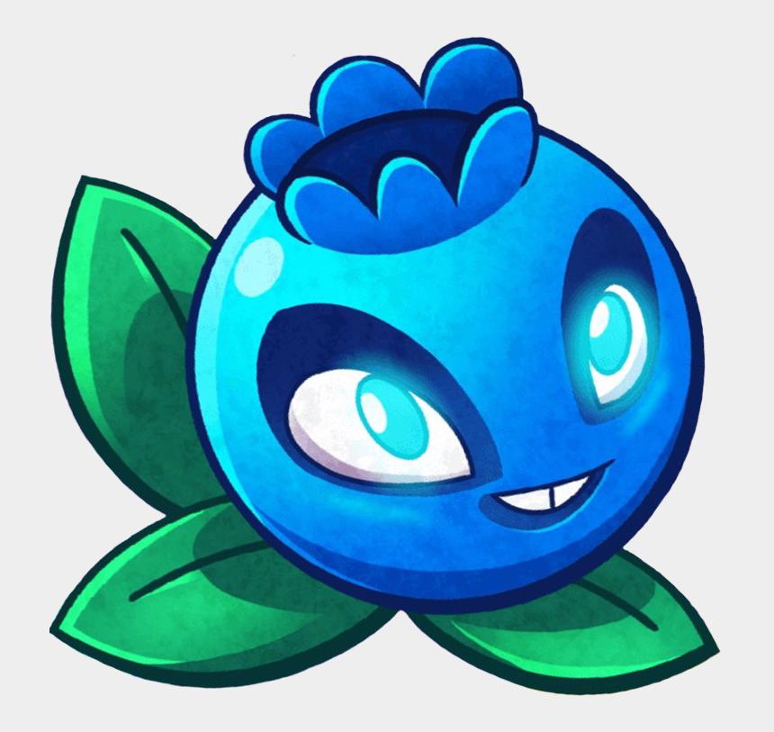 blueberry bush clipart, Cartoons - Electric Blueberry - Pvz Heroes Electric Blueberry