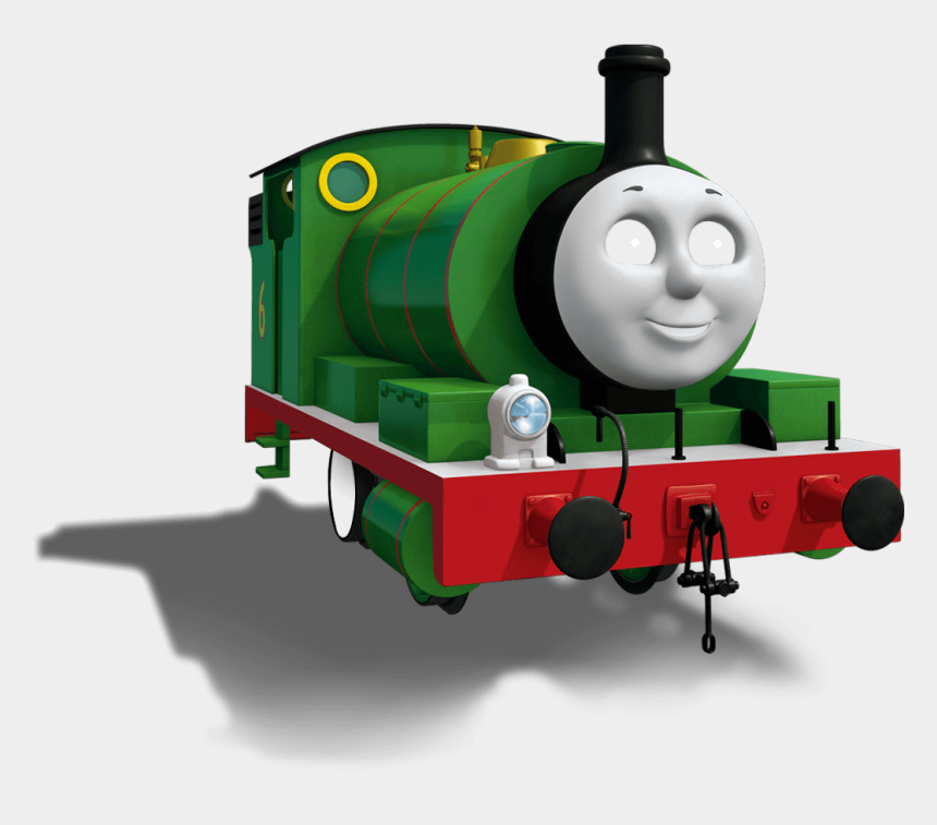 thomas train clipart black and white, Cartoons - Character Profile & Bio - Percy The Small Engine Cgi