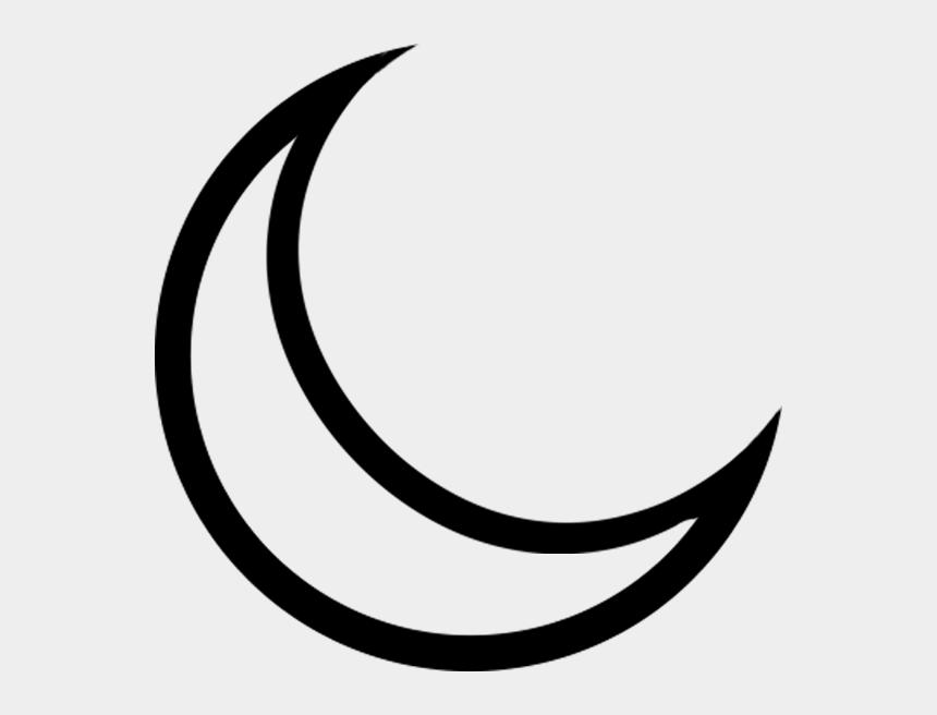 Crescent Moon Illustration - Cute Moon Clipart Png, Transparent Png -  kindpng