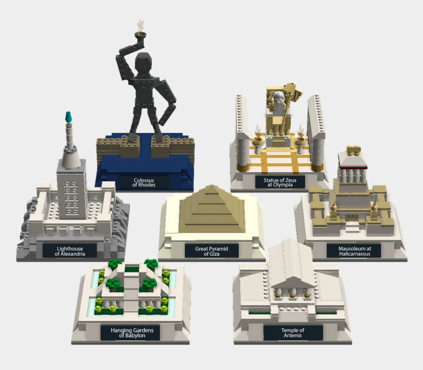 great pyramid clipart, Cartoons - Download Png Image Report - Statue Of Zeus Minecraft