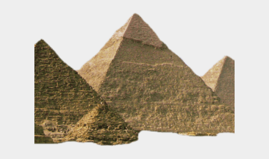 great pyramid clipart, Cartoons - Pyramid Png Transparent Images - Giza Necropolis