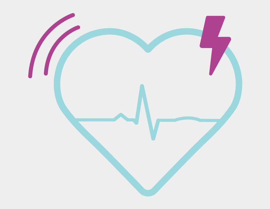 heart monitor line clipart, Cartoons - Arrhythmia Detection - Heart