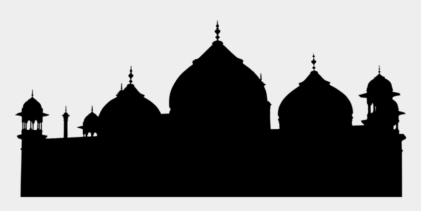 mosque clipart black and white, Cartoons - Mosque, Masjid, Architecture, Buildings - Taj Mahal