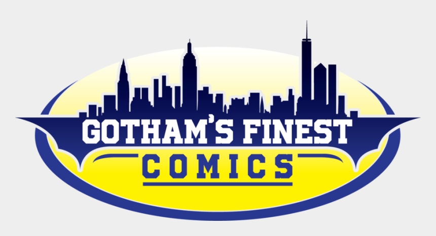 comic book cityscape clipart, Cartoons - Gotham's Finest Comics Will Be Opening Soon