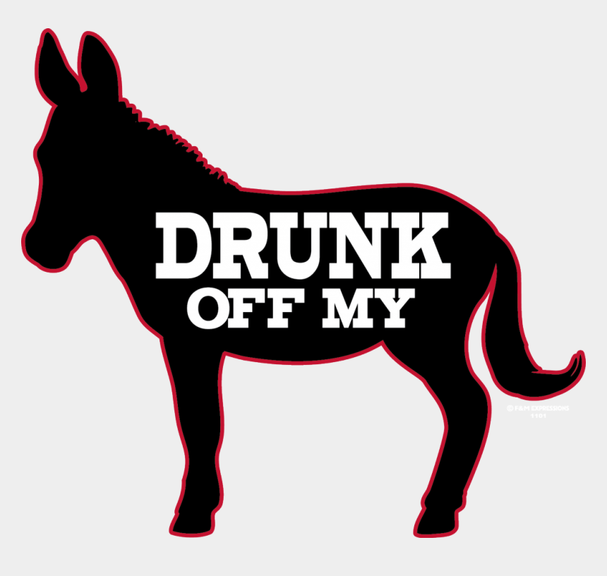 alcohol shot clipart, Cartoons - Drunk Off My Ass Donkey Beer Party Ⓒ - Drunk Off My Ass
