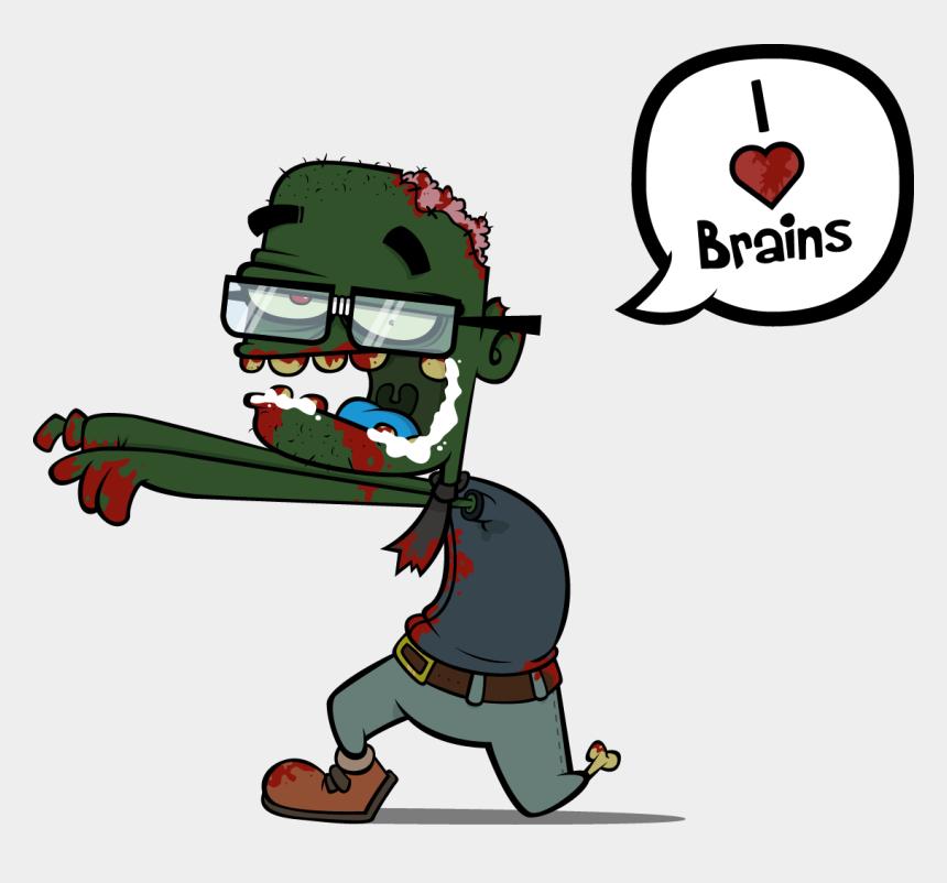 zombie brains clipart, Cartoons - Zombie Brains - Zombie Brains Png