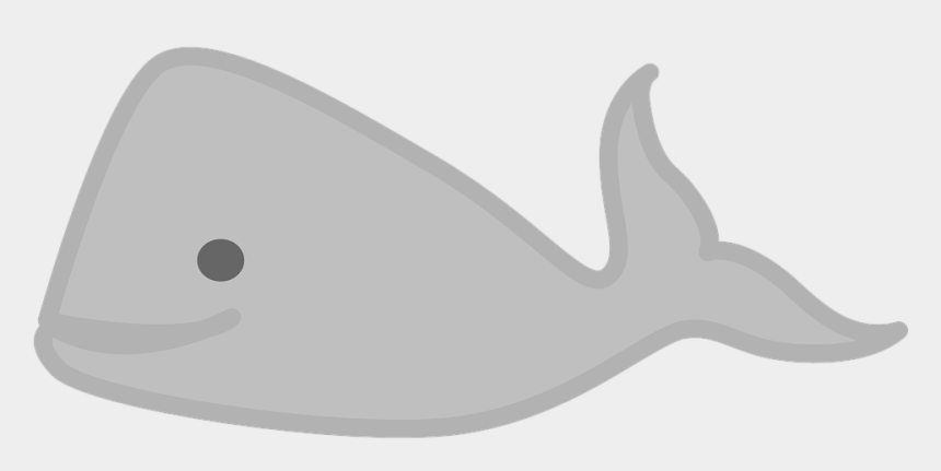 narwhal clipart black and white, Cartoons - Free Image On Pixabay Whale Sea Animal Ⓒ - Gray Whale Clipart