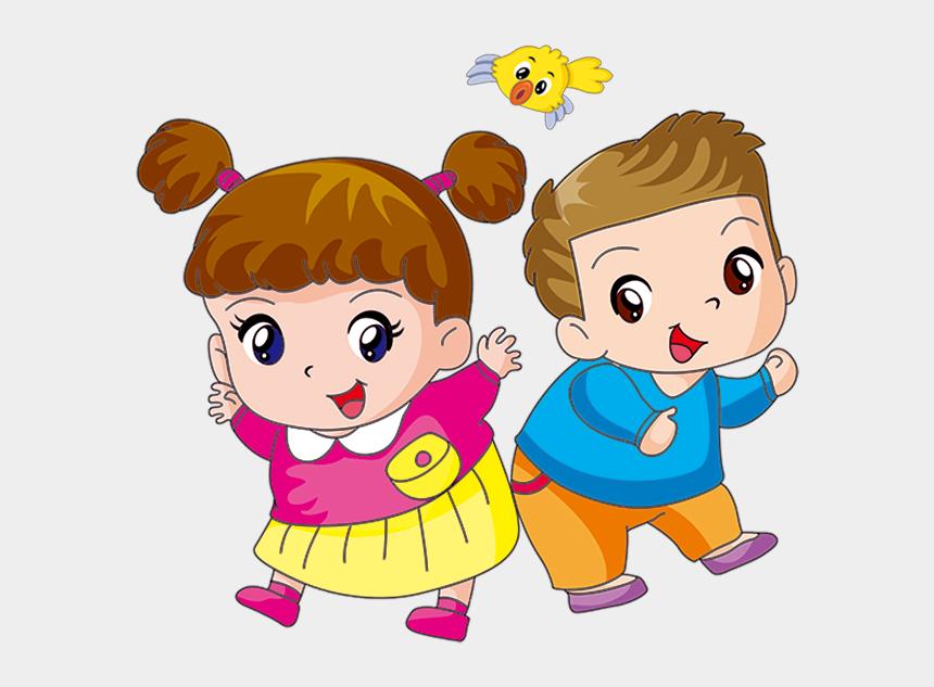 brown hair clipart boy, Cartoons - Boy And Girl Cartoon Png