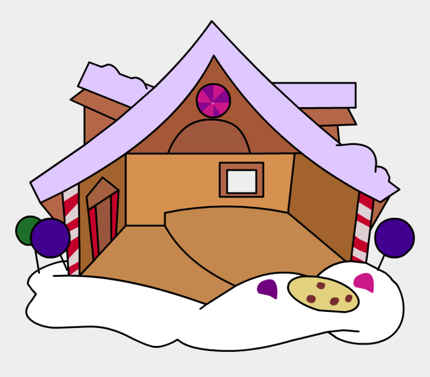 gingerbread house candy clipart, Cartoons - Fresh Baked Gingerbread House