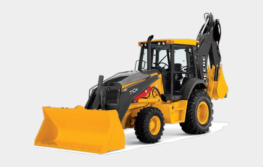 cat bulldozer clipart, Cartoons - John Deere Clipart Bulldozer - Backhoe Loader John Deere