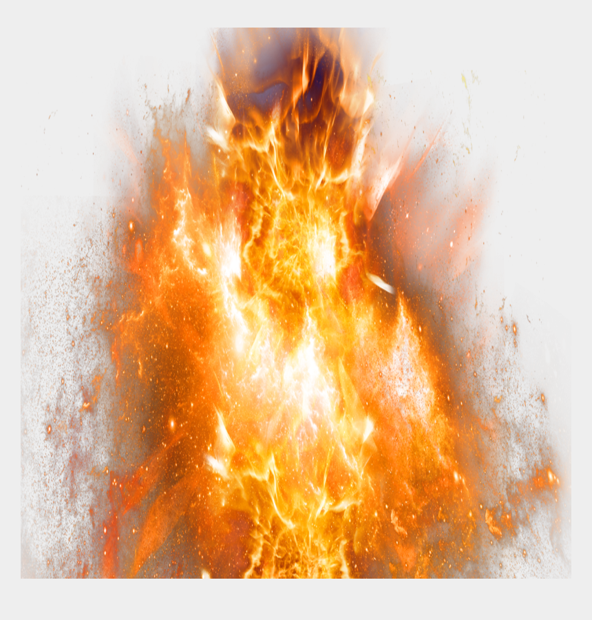 fire explosion clipart, Cartoons - Explosion With Fire - Big Fire Png