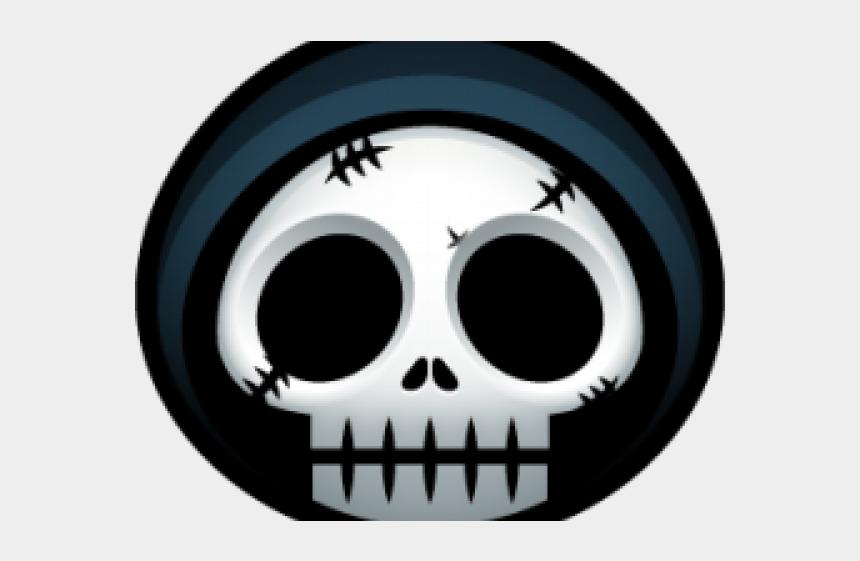 halloween skeleton head clipart, Cartoons - Reaper Clipart Halloween Skeleton Head - Rise Of Civilization Avatar