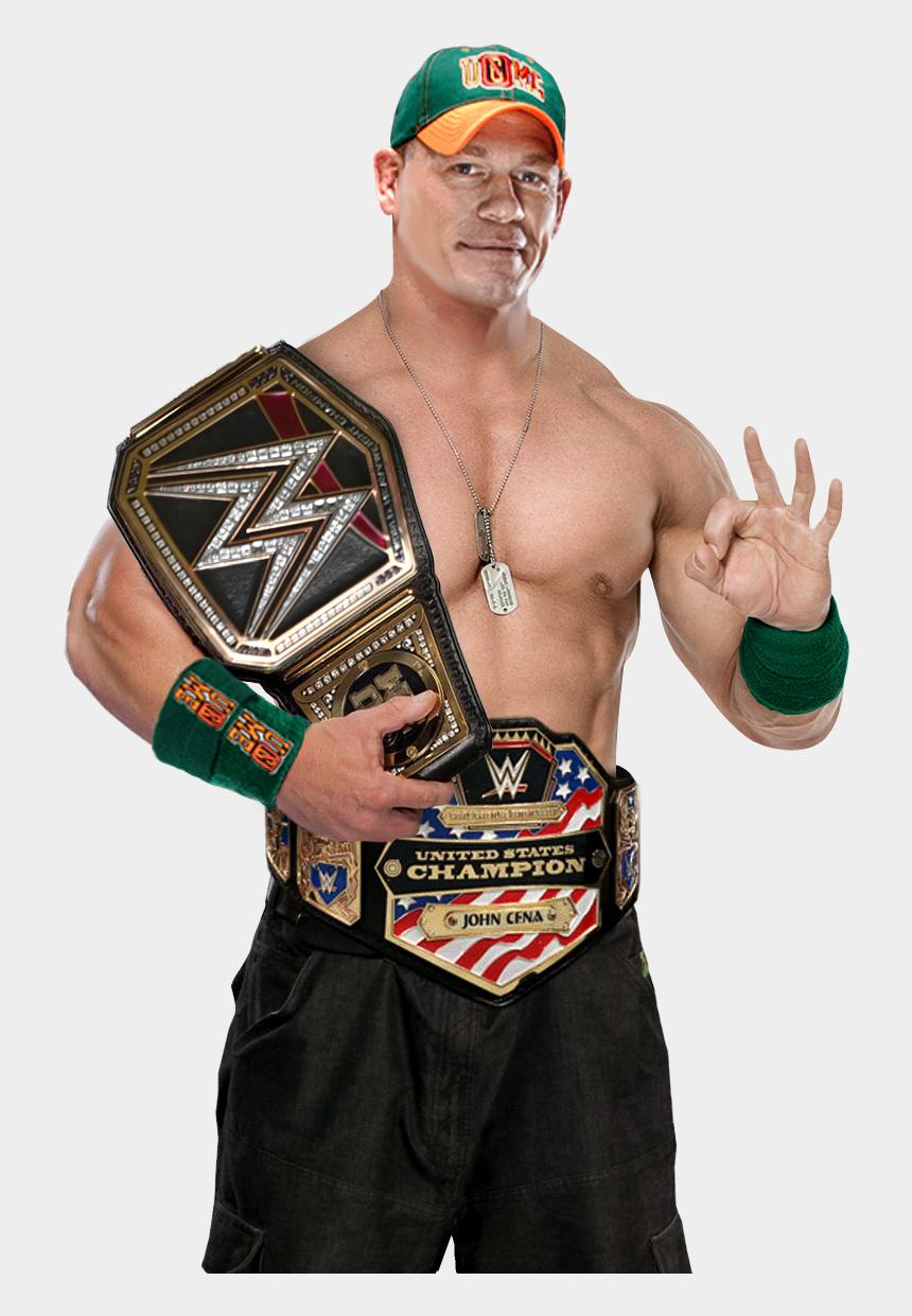 John Cena Png John Cena With Wwe Championship Cliparts Cartoons Jing Fm