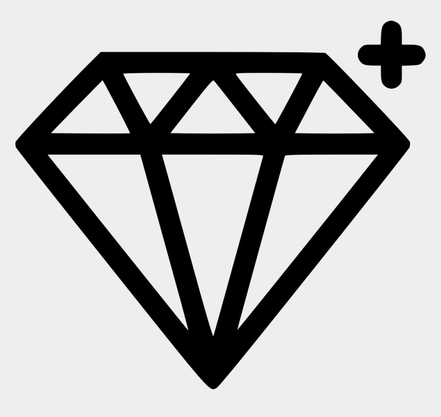 gemstone clipart outline, Cartoons - Diamond Jewelry Treasure Png Icon Free Download Ⓒ - Sketch App Logo Black