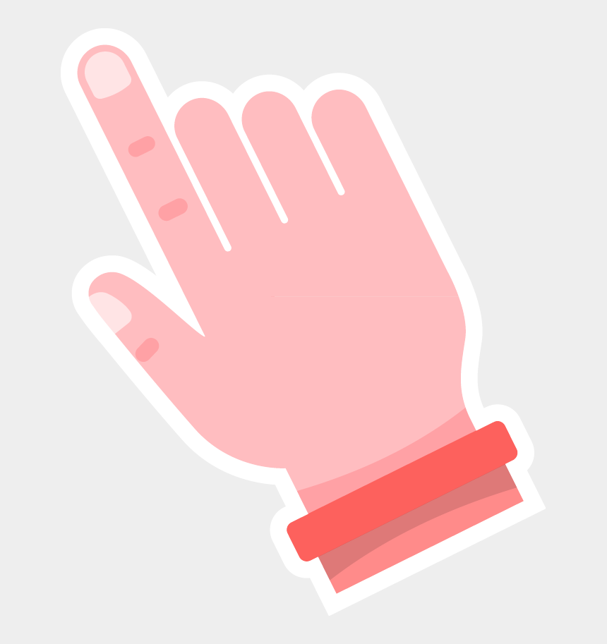 painted nail clipart, Cartoons - Free Online Hands Gestures Charactor Click Vector For - Illustration