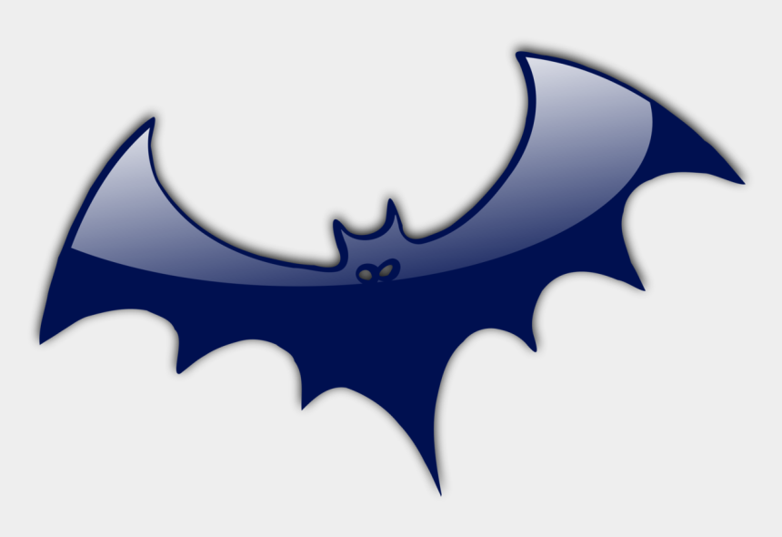 public domain halloween clipart, Cartoons - Public Domain Mark - Orange Halloween Bat
