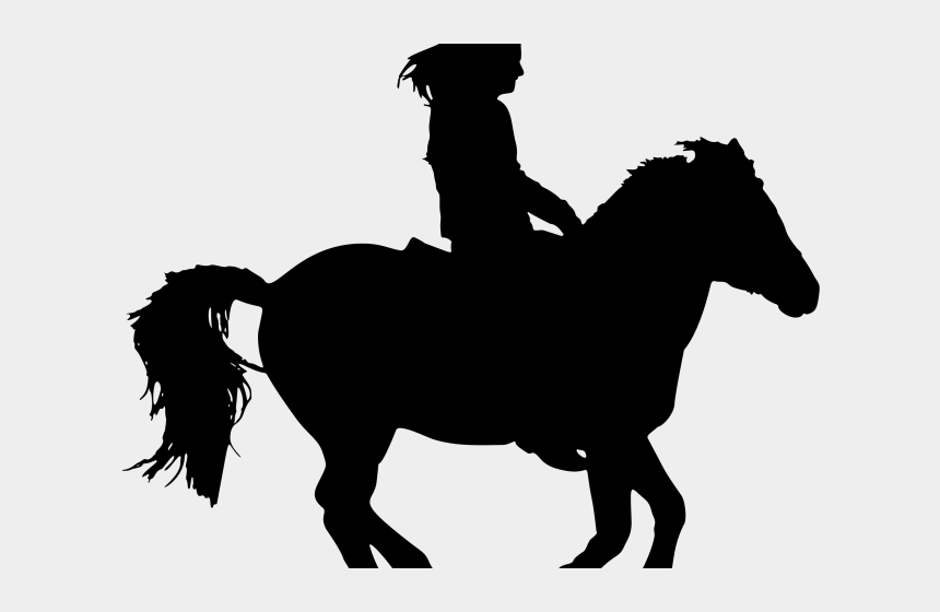 horse riding clipart black and white, Cartoons - Horse Riding Clipart Horse Reins - Horse And Rider Silhouette