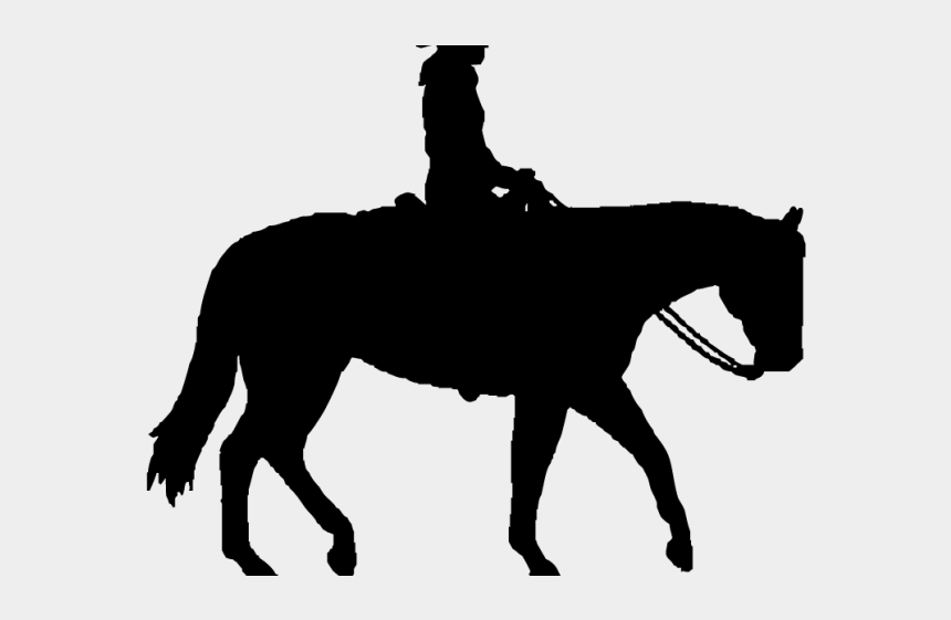 horse riding clipart black and white, Cartoons - Horse Riding Clipart Transparent - Horse Trail Ride Silhouette