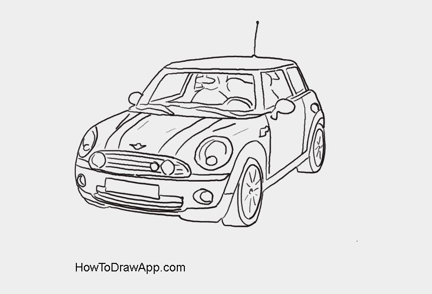 animated car clipart, Cartoons - Mini Cooper Clipart Animated Car - Drawing Of Mini Cooper