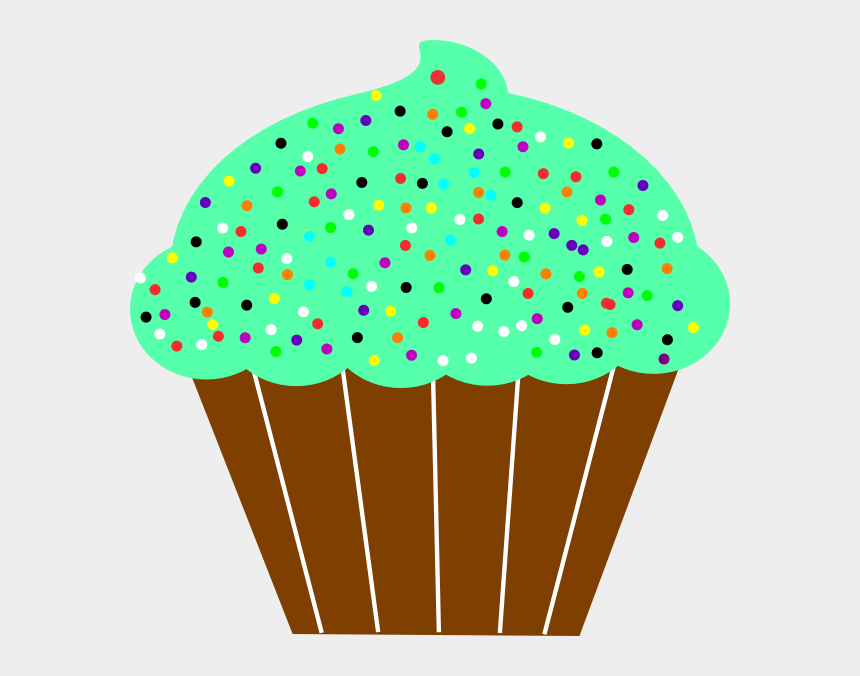 cupcake with sprinkles clipart, Cartoons - Cupcake Clip Art - Art And Craft Cupcakes