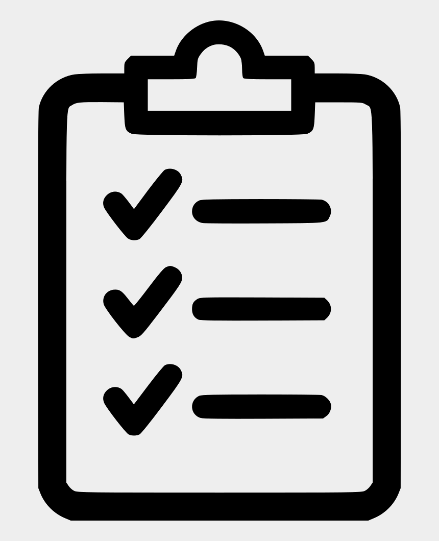 clipboard checklist clipart, Cartoons - Clipboard Comments - Specification Icon Transparent