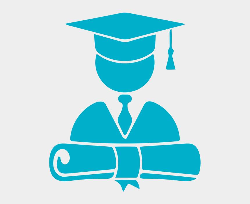 high school graduate clipart, Cartoons - High School Student Grad - Graduation Logo Png