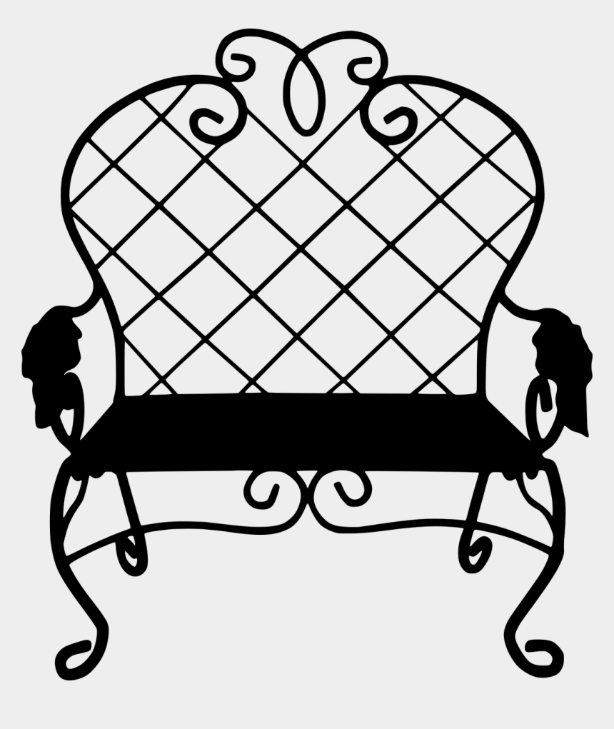 park bench clipart free, Cartoons - Silhouette Park Bench Old Free Picture - Legion Of Honor