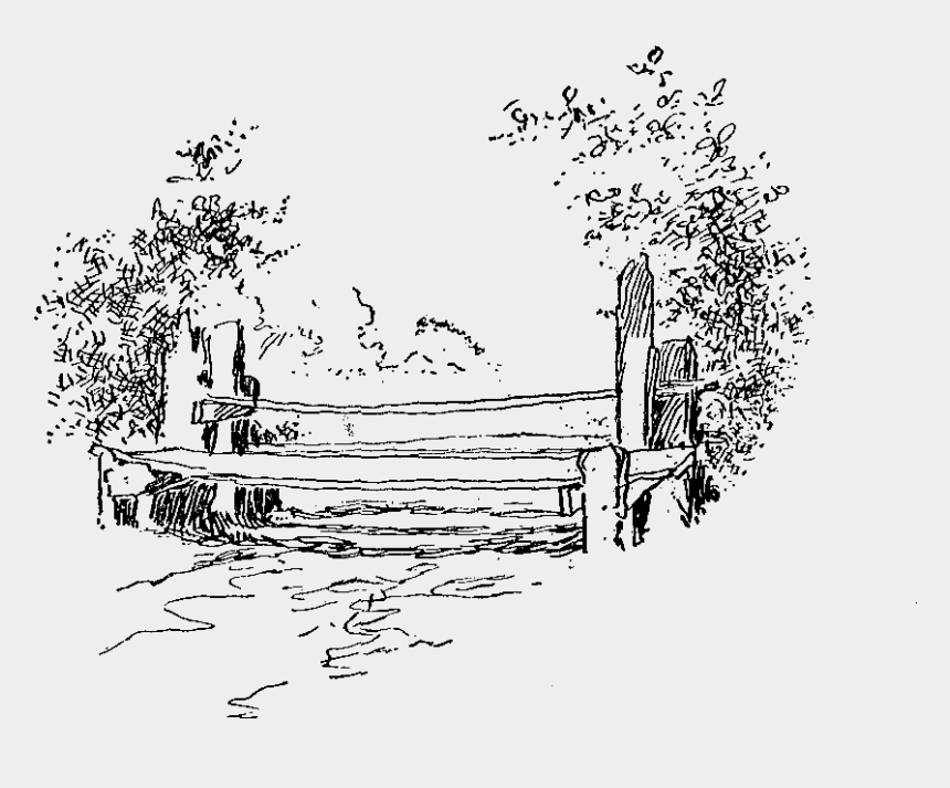 park bench clipart free, Cartoons - This Is A Simple Bench Digital Stamp From A Vintage - Line Art