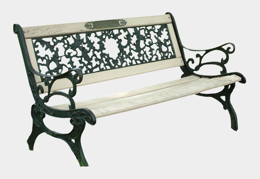 park bench clipart free, Cartoons - Park Bench Picture Free Transparent Image Hq - Park Bench Png