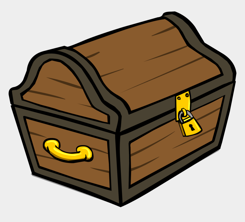 pirate treasure chest clipart, Cartoons - Treasure Chest Id 305 Sprite Club - Treasure Chest Transparent Background