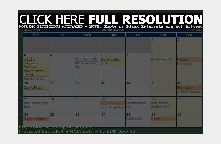 june month clipart, Cartoons - June 2019 Calendar With Australian Holidays - Calendar June 2019 Australia