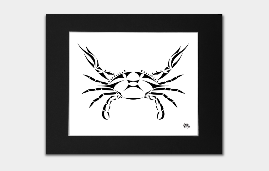 hermit crab clipart black and white, Cartoons - Transparent Crab White - Cancer