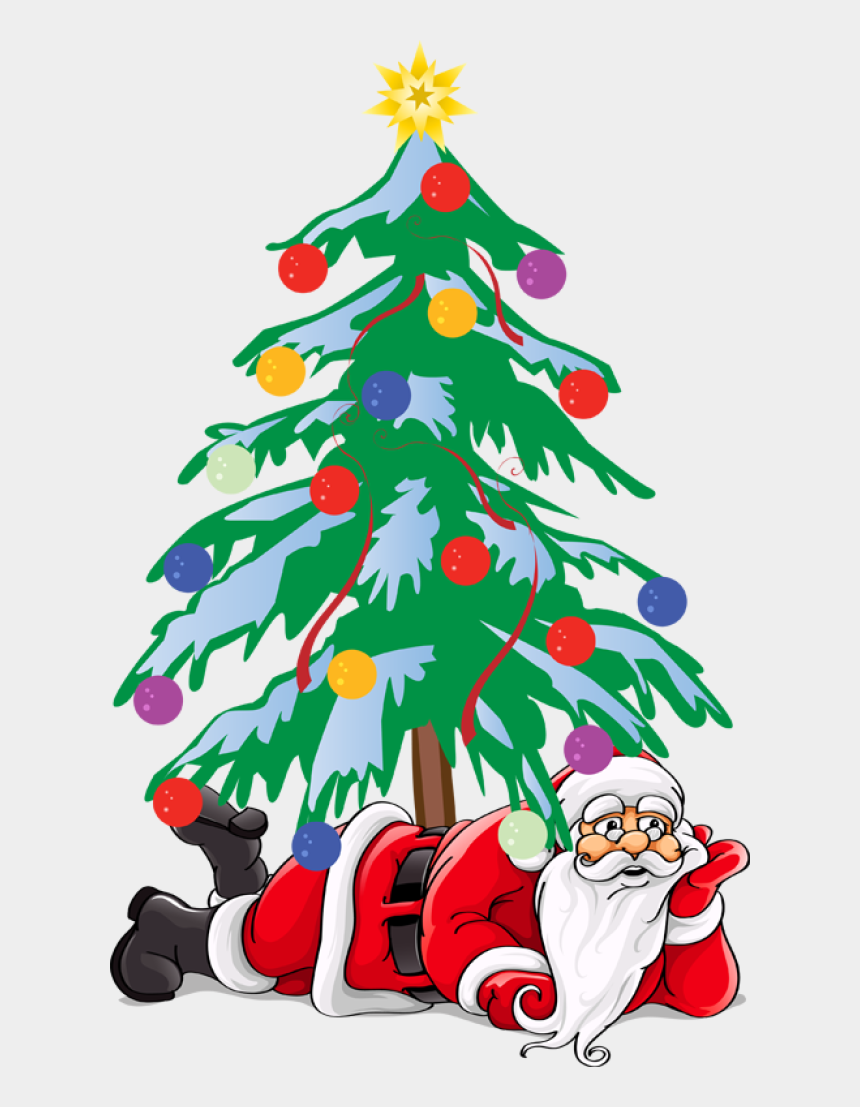 contemporary christmas tree clipart, Cartoons - Great Santa Clip Art - Merry Christmas Wishes Instagram