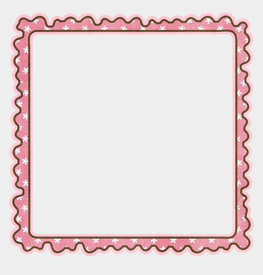 baby girl clipart borders, Cartoons - Baby Girl Border Clipart - Pink Girl Frame Png