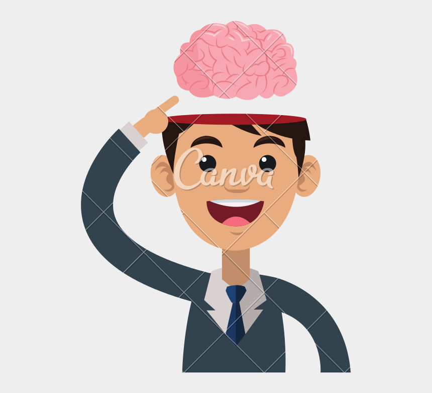 happy brain clipart, Cartoons - Person Icons Brain - Person With Heart Eyes