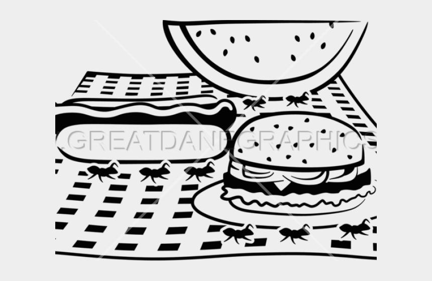 ants at a picnic clipart, Cartoons - Drawn Ants Picnic