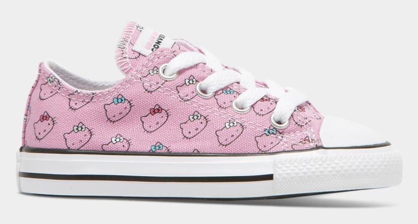 chuck taylor clipart, Cartoons - Converse X Hello Kitty Toddler Chuck Taylor All Star - Skate Shoe