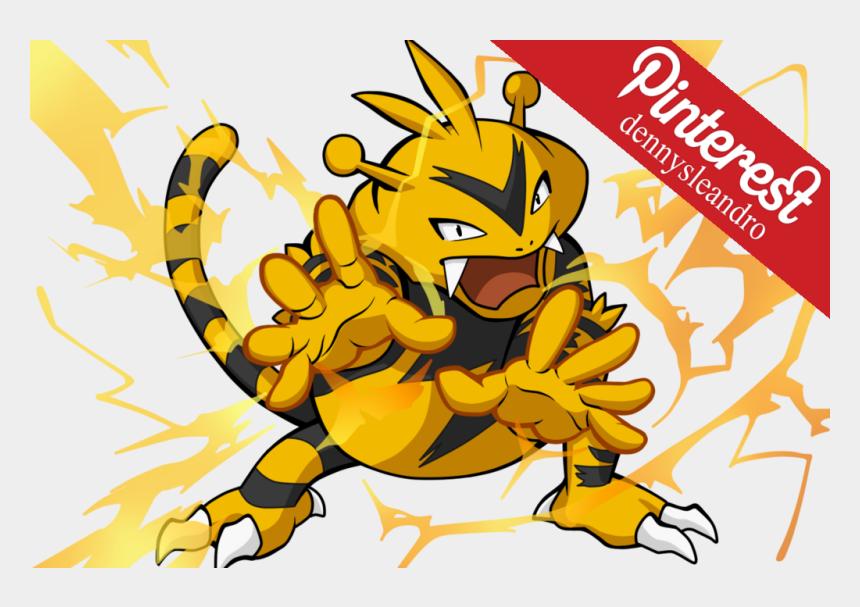 zeus lightning bolt clipart, Cartoons - When A Storm Arrives, Gangs Of This Pokémon Compete - Elektek
