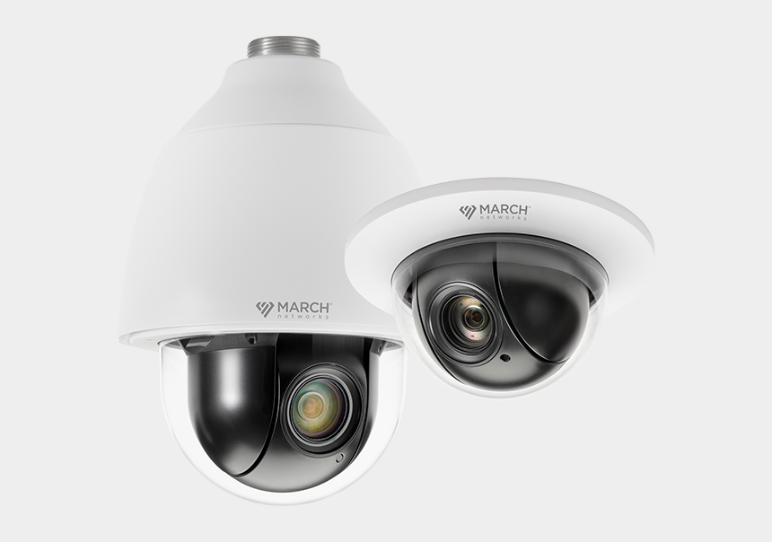 video surveillance camera clipart, Cartoons - New Ptz Cameras - Pan–tilt–zoom Camera