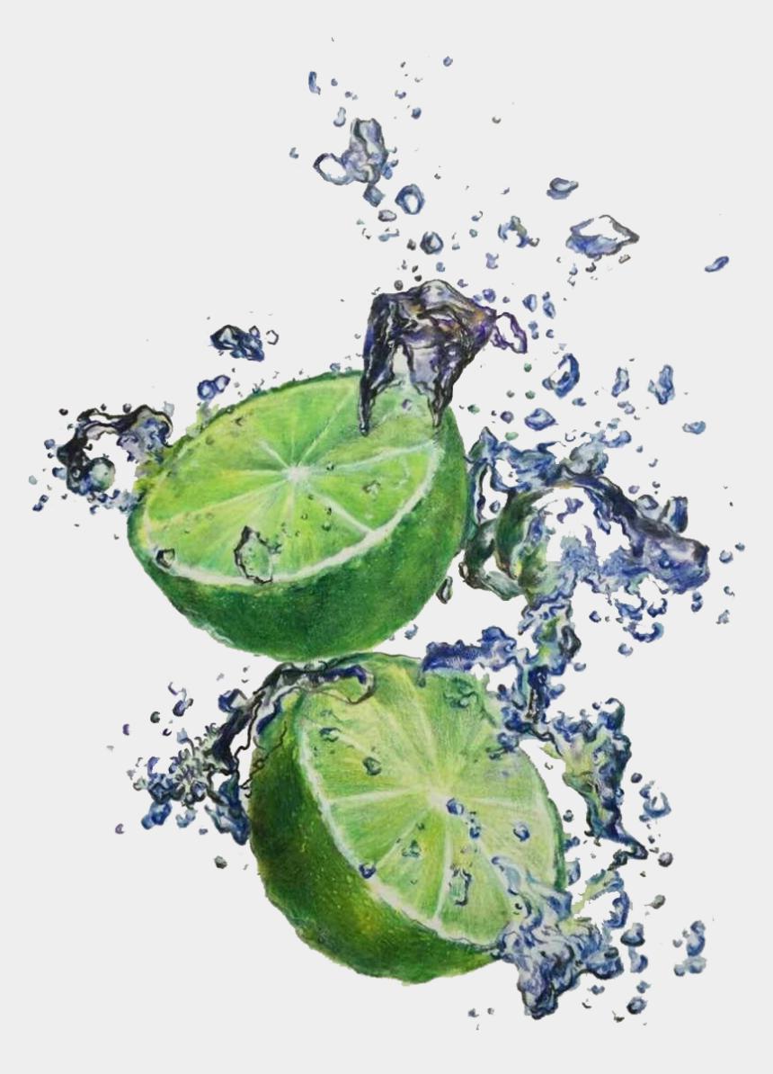lemon lime clipart, Cartoons - Drawing Lemons Sweet Lime - Зеленый Лимон Акварель