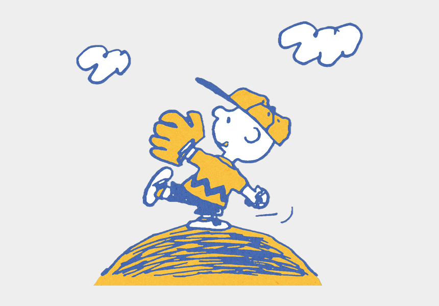 peanuts gang clipart, Cartoons - Snoopy Clip Art N30 - Charlie Brown Baseball Clipart
