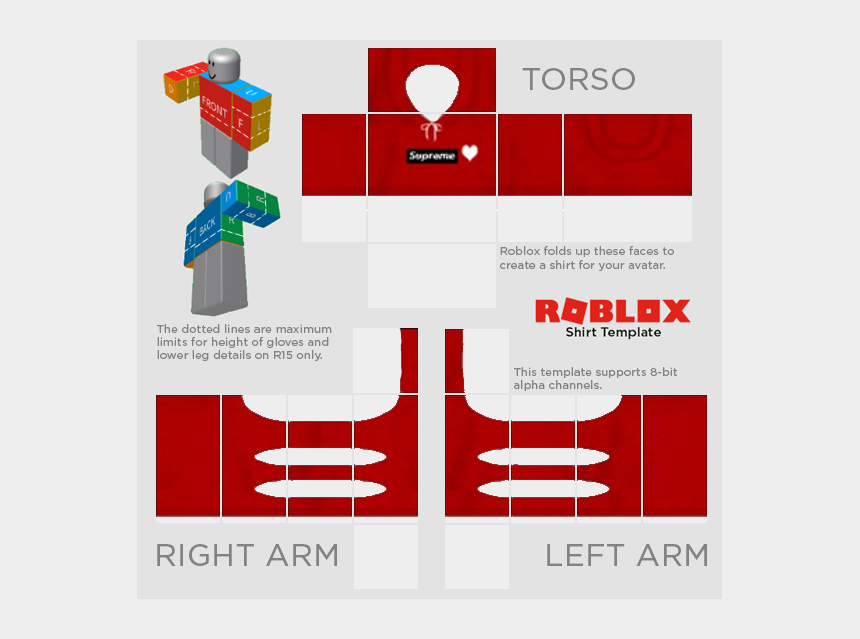 Transparent Templates Clothing Roblox Roblox Shirt Template 2019