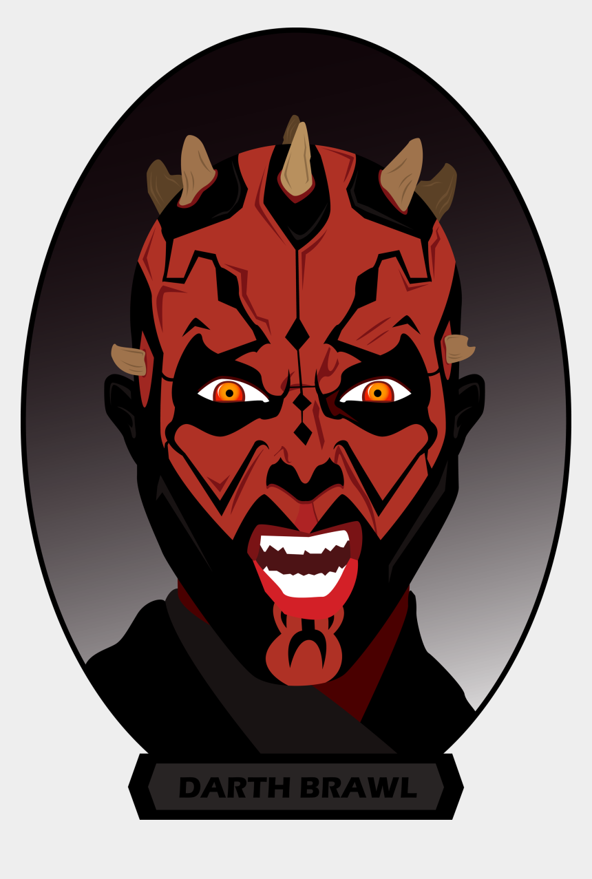 darth maul clipart, Cartoons - He Really Is Great - Illustration