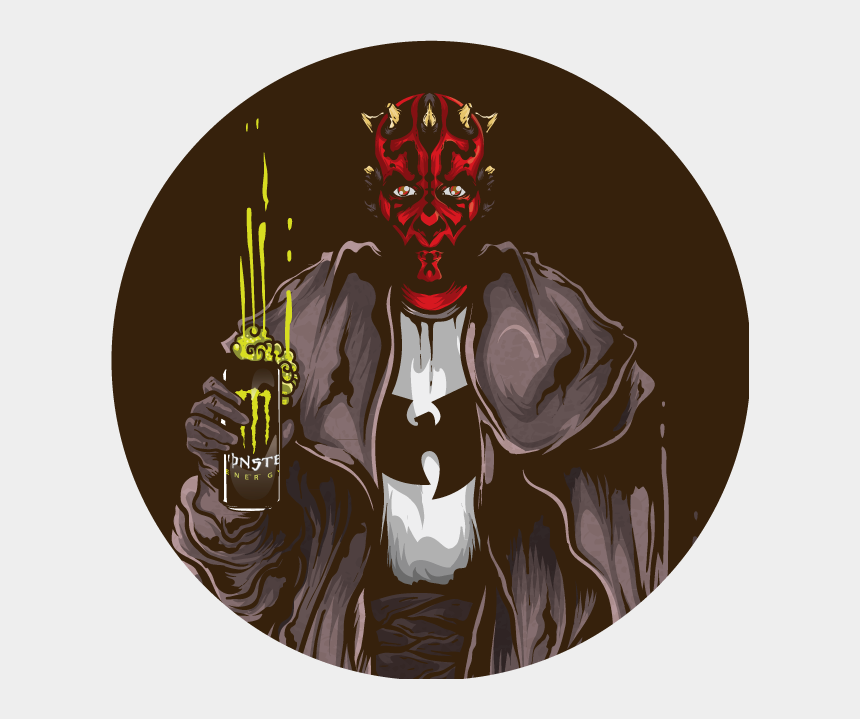 darth maul clipart, Cartoons - Ilustración Star Wars, Darth Maul/ Trabajo Persona - Illustration