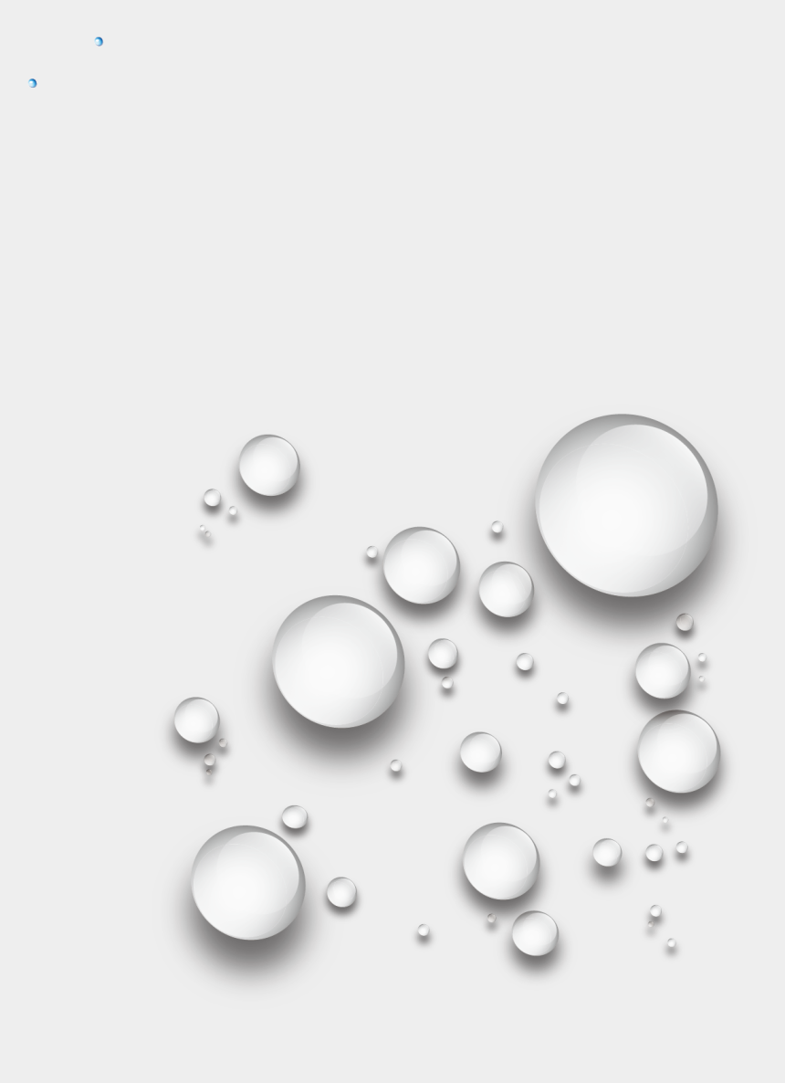 water droplets clipart black and white, Cartoons - Transparent Water Drop Png , Png Download - Clear Water Droplet Png