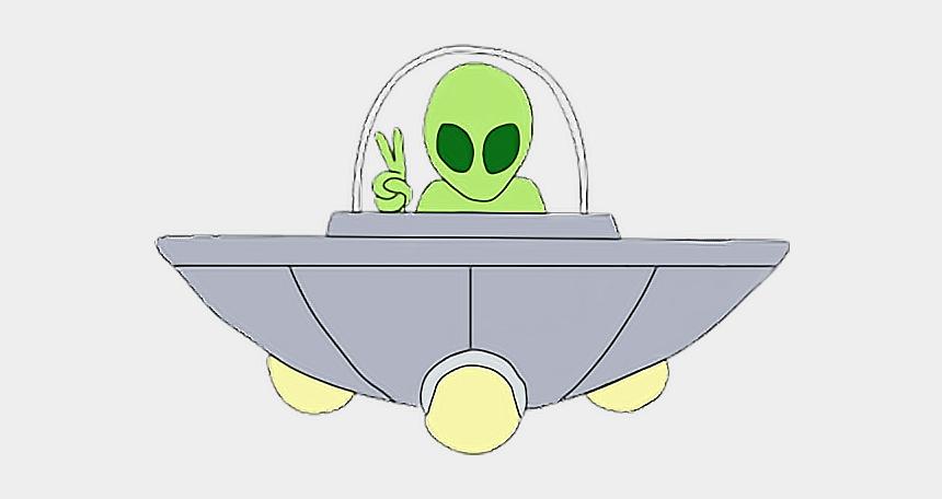 alien in ufo clipart, Cartoons - #alien #ufo #humansarentreal #aliens👽 #aliensarereal - Aesthetic Alien Png