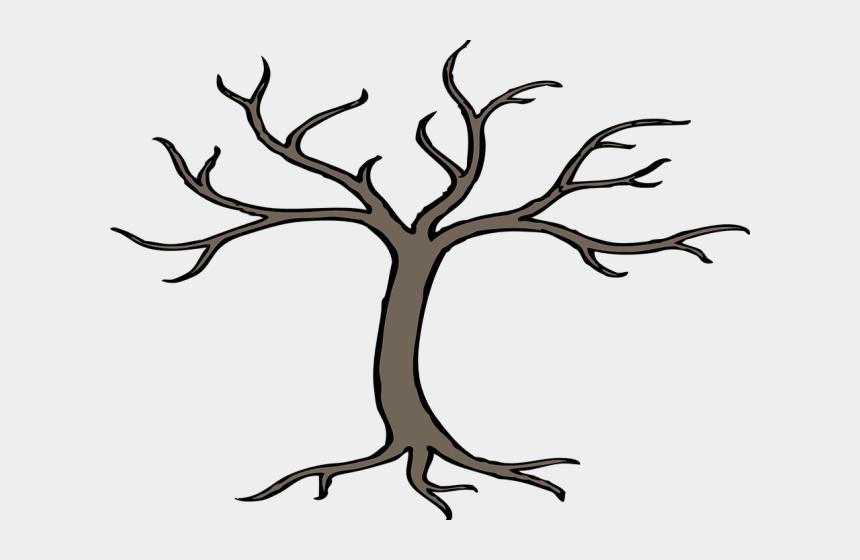 broken tree clipart, Cartoons - Easy Dead Tree Drawing