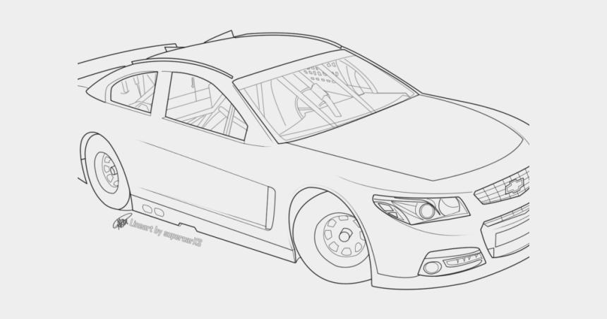 nascar race car clipart, Cartoons - Drawn Race Car Nascar - Nascar Race Car Drawing