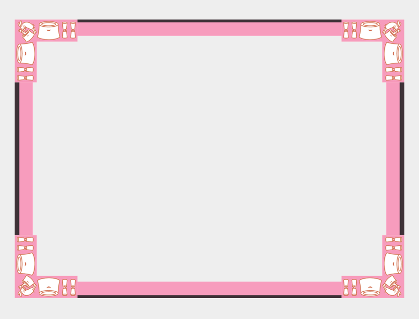 picnic clipart border, Cartoons - Picnic Clipart Frame - Pet Adoption Certificate Editable