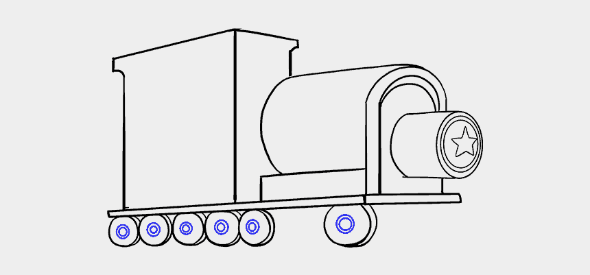 simple train clipart, Cartoons - How To Draw A Train In A Few Easy Steps Easy Drawing - Drawing